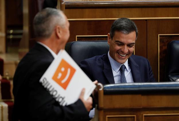 Pedro Sánchez se reunirá el lunes en Valencia con representantes de Compromís