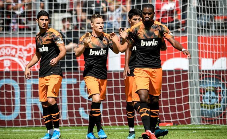 Las mejores imágenes del Bayer Leverkusen-Valencia CF