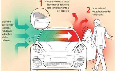 El truco de la Guardia Civil para ventilar el coche en verano