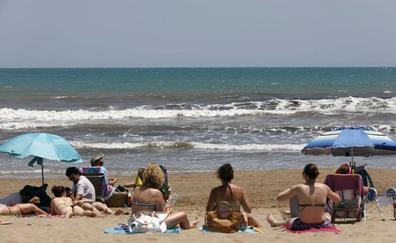 Estado de las playas en Valencia este lunes 5 de agosto
