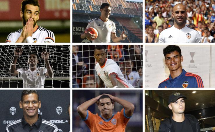 Jugadores que han fracasado en el Valencia CF