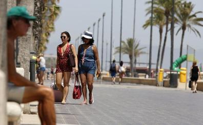 Alerta por calor con temperaturas de hasta 39 grados hoy en la provincia de Valencia y 45 el viernes en Xàtiva