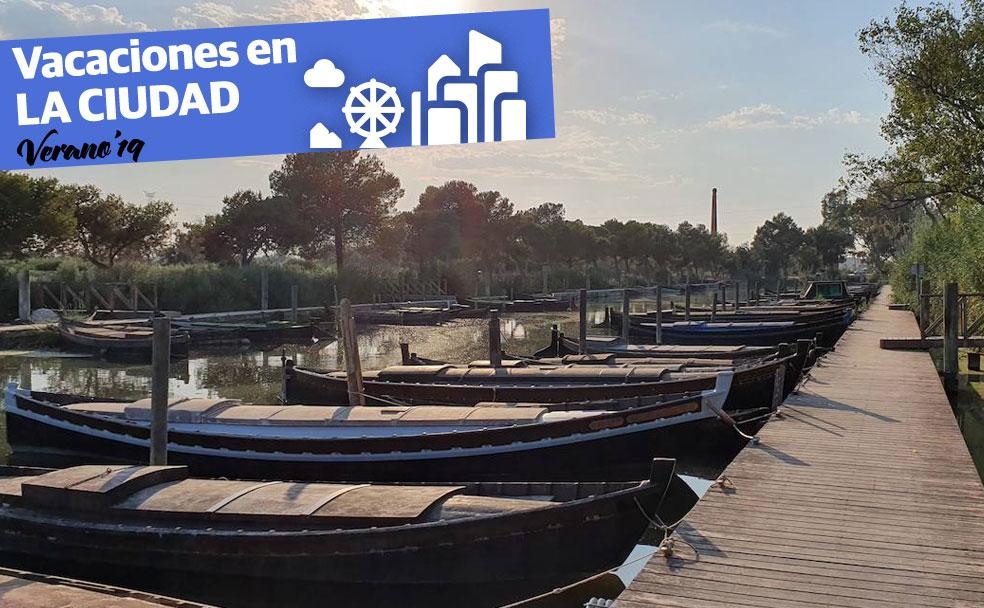 El puerto de Catarroja, naturaleza en barca