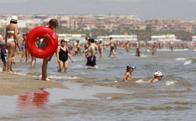 Estado de las playas en Valencia este miércoles 7 de agosto
