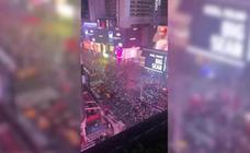 Una falsa alarma de tiroteo provoca el pánico en Times Square
