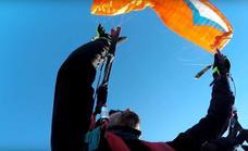 Muere un joven de 29 años al lanzarse de madrugada desde uno de los silos de una cementera y no abrirse el paracaídas