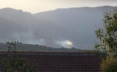 Controlado el incendio del paraje de Font de Lloret en Gandía