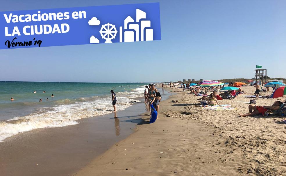 Belleza y tranquilidad dan vida a la playa de El Saler