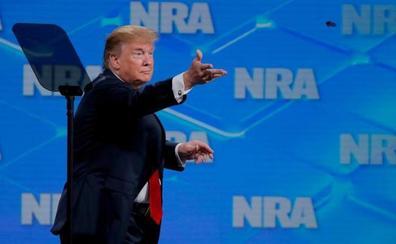 Trump reafirma el derecho a portar armas en EE UU tras los atentados de El Paso y Dayton
