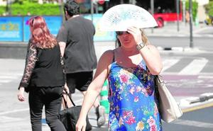 El calor extremo se ceba con Valencia con registros máximos de 43,5 grados