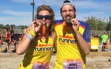 Aurora y Óscar retan al maratón por Mari Carmen