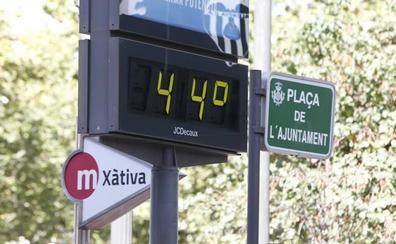 Noche ecuatorial en Valencia: la temperatura no bajó de 30º hasta las 3.00 de la madrugada