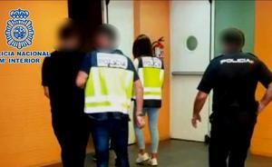 Detenidos infraganti tres miembros de un grupo criminal cuando iban a perpetrar un atraco en la Comunitat