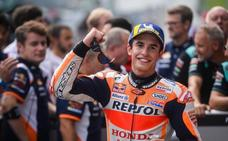 Márquez: «A nivel de ritmo, Dovizioso no está tan lejos»
