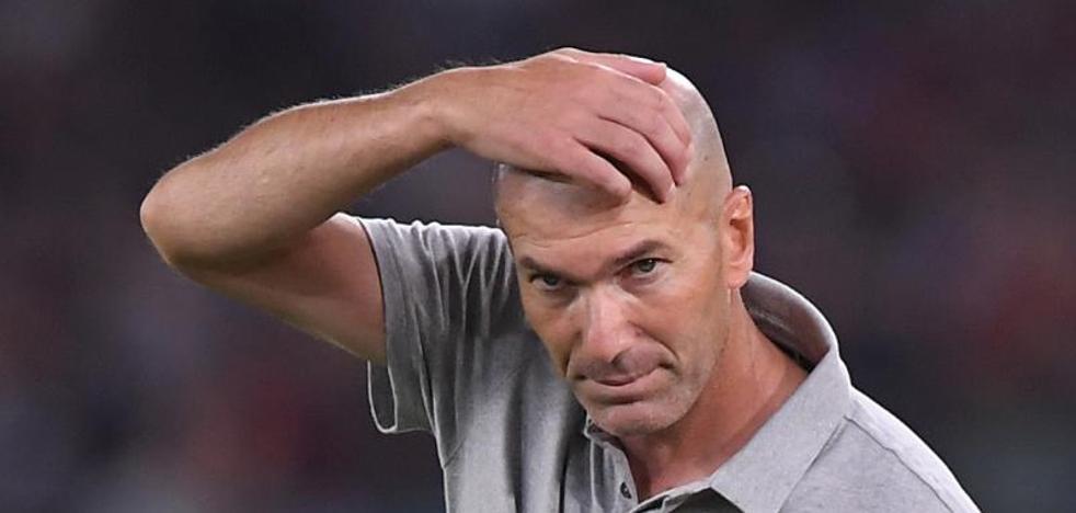 Zidane: «Tenemos esta plantilla. Punto final»