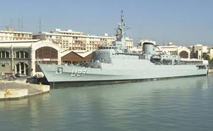 El buque escuela de la Marina de Brasil llega a Valencia en su vuelta al mundo