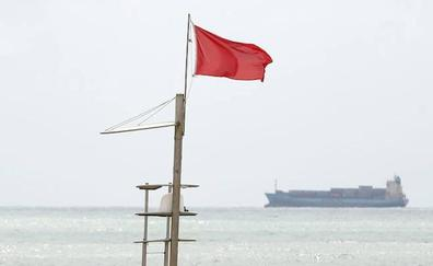 ¿Por qué hay bandera roja en las playas de Valencia?