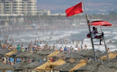 Ocho playas de Valencia cerradas al baño hoy martes 13 de agosto