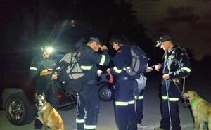 Un perro rescata en el Saler a un hombre con alzheimer que se había desorientado