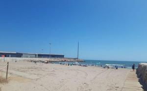 Gandia cierra las playas de Venècia y Marenys tras detectarse contaminación fecal