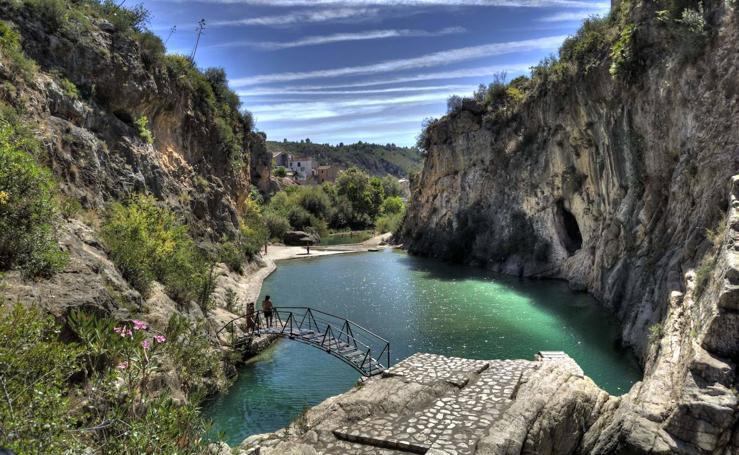 13 piscinas naturales para refrescarte en la Comunitat