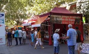 Arranca la Fira de Xàtiva con más control policial y algunos cambios en el Real