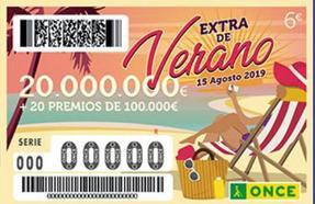 Sorteo Extra de Verano de la ONCE: comprueba si has ganado 20 millones de euros
