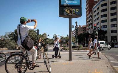 Alerta amarilla el sábado en Valencia por temperaturas de 39º