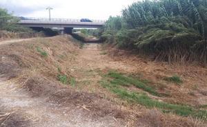 Tavernes solicita a la CHJ que repare el margen del Vaca para evitar que se desborde el río