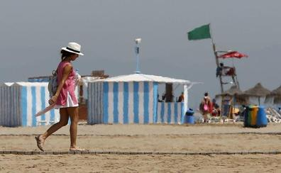Tres playas de Valencia continúan con bandera amarilla este viernes 16 de agosto