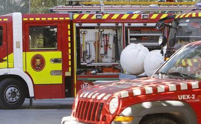 Dos perros y cuatro vehículos calcinados en el incendio de un chalé en Palma de Gandia