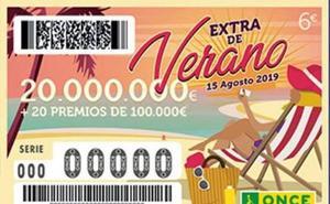 El Extra de Verano de la ONCE reparte 100.000 euros en la Comunitat