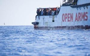 La crisis migratoria del Open Arms desencadena varias políticas
