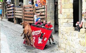 Morella, los toros vividos con un encanto medieval