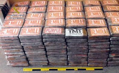 Detienen en Valencia a dos miembros de una red que traficaba con media tonelada de cocaína