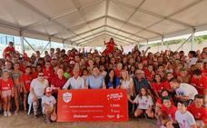 El Campus Dulcesol entrega 7.500 euros para proyectos de lucha contra el cáncer
