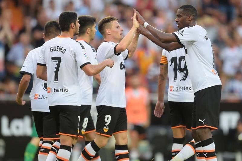 El Valencia CF - Real Sociedad, en imágenes