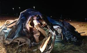 Tres heridos en accidentes de tráfico