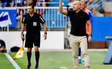 Paco López: «El equipo ha hecho méritos para no irnos a casa perdiendo»
