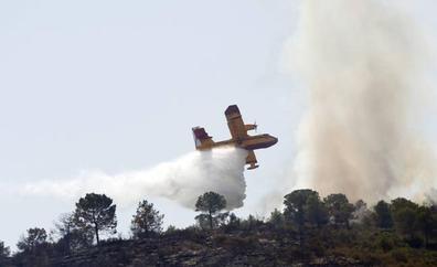 Investigan a un joven de 20 años por el incendio forestal declarado en mayo en Soneja