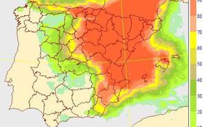El tiempo en Valencia: Aemet activa el aviso amarillo por lluvias de 20 l/m2 en una hora y granizo de hasta 2 centímetros