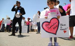 Trump anuncia una ley que permite detener a niños inmigrantes de forma indefinida