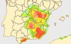 El diluvio cae sobre Castellón