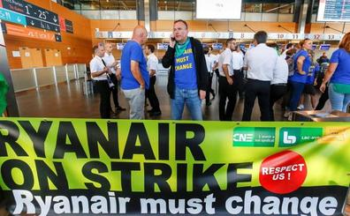 Ryanair opera con 'normalidad' sus vuelos a pesar de la huelga