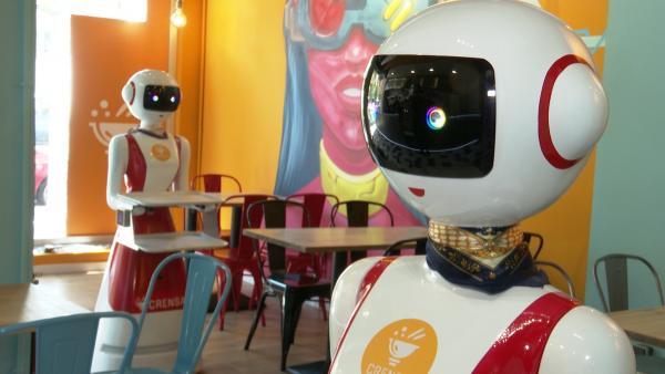 Un nuevo restaurante de Valencia utilizará robots camareros en la atención a los clientes