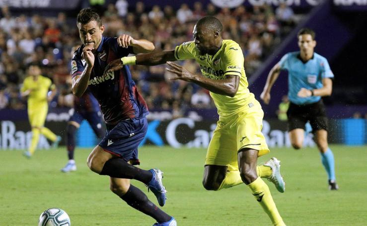 El Levante-Villarreal de la segunda jornada de LaLiga en imágenes
