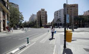 Las nuevas restricciones de tráfico en el centro de Valencia se hacen sin informe policial