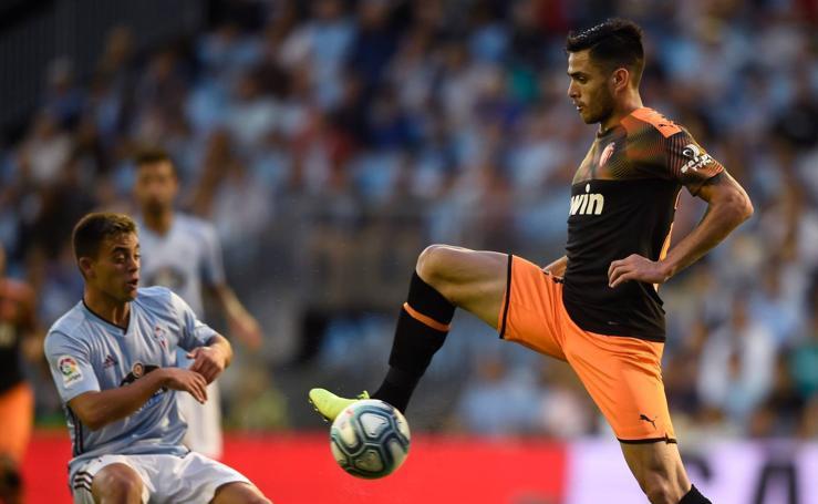 El Celta-Valencia de la segunda jornada de LaLiga en imágenes