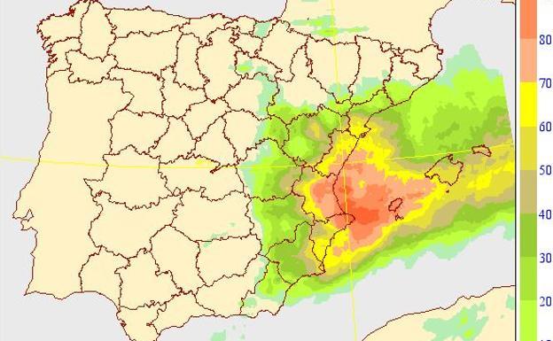 La Zona Cero de la DANA en Valencia: Aemet anuncia el diluvio durante tres horas
