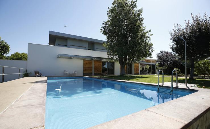 Las mejores casas con piscina de Valencia